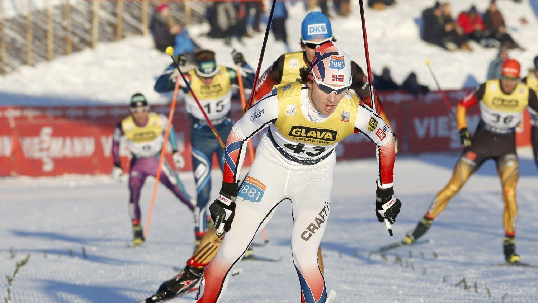 VANT: Mikko Kokslien vant på Lillehammer søndag.