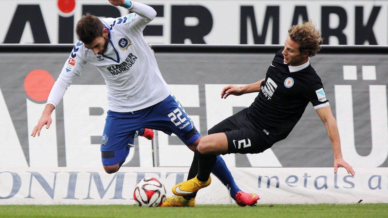 TAP: Vegar Eggen Hedenstad og Eintracht Braunschweig tapte mot Enrico Valentini og Karlsruhe søndag.