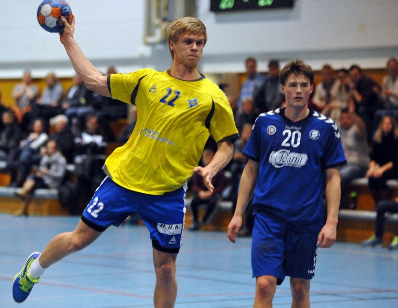 Bækkelagets Sivert Nordeng ble toppscorer med seks mål mot gamleklubben Oppsal.