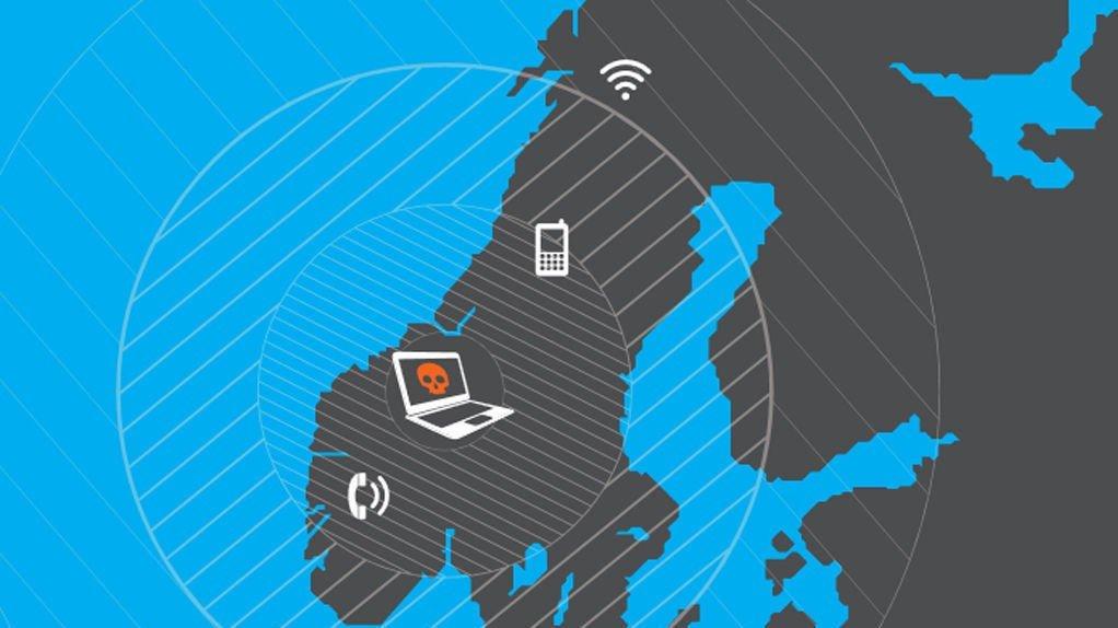 """SÅRBARE: - Telenor-scenariet viser hvor sårbare vi er på dette området. Vi har bare dette ene nettet som så og si alle er avhengig av, sier avdelingsdirektør Erik Thomassen i DSB. Illustrasjon fra DSB-rapporten """"Nasjonalt risikobilde 2014""""."""