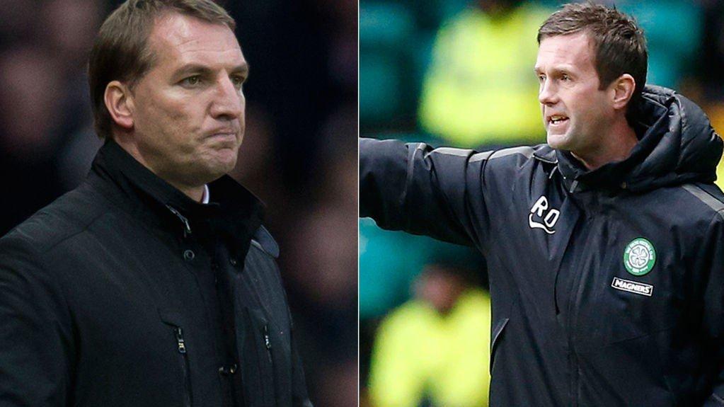 TØFF MOTSTAND: Liverpool og Brendan Rodgers, og Celtic og Ronny Deila får noe å bryne seg på i neste runde av Europaligaen.