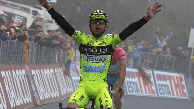 Den italienske sykkelrytteren Mauro Santambrogio er nok en gang tatt i doping.