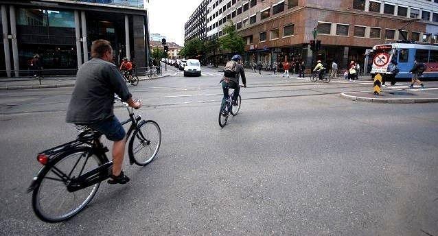 Byrådet vil tredoble antall sykkelturer i Oslo.