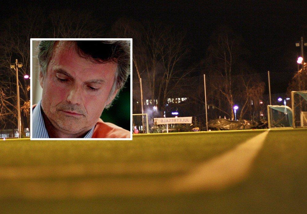 FRIGG: Styreleder Erling Fossen (innfelt) nekter for at han omgjorde styrets vedtak om å avslutte samarbeidet med den omstridte treneren Nima Backi.