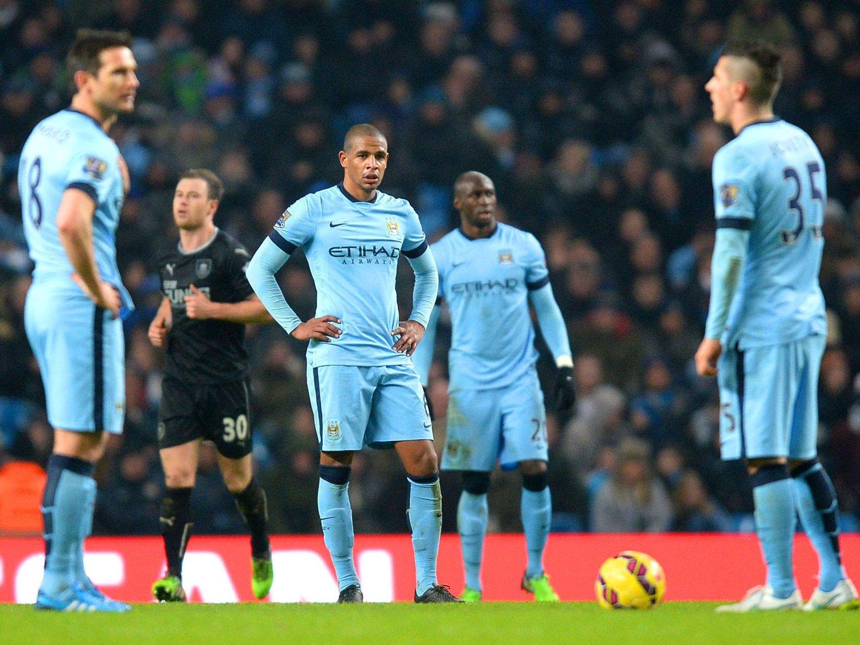 HJEMMEFIASKO: Manchester City ledet komfortablet 2-0, men maktet likevel ikke å slå Burnley på eget gress.
