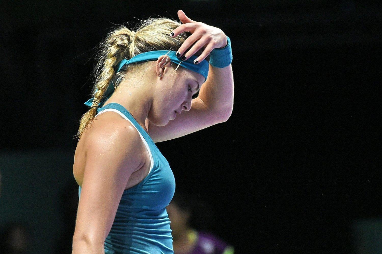 SJOKK: Eugenie Bouchard slo Serena Williams.