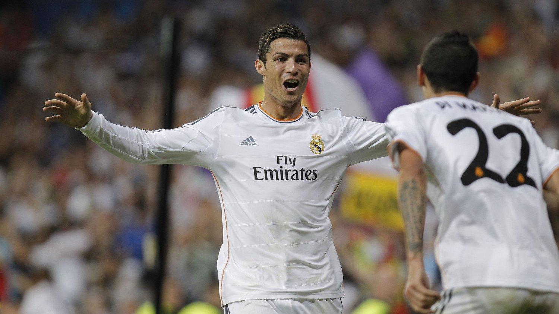 TVILSOM TIL GJENFORENING: Angel Di Maria tror neppe Cristiano Ronaldo er villig til å forlate Real Madrid.