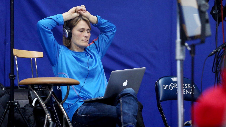 Anja Andersen er ferdig med håndball. FOTO: NTB scanpix