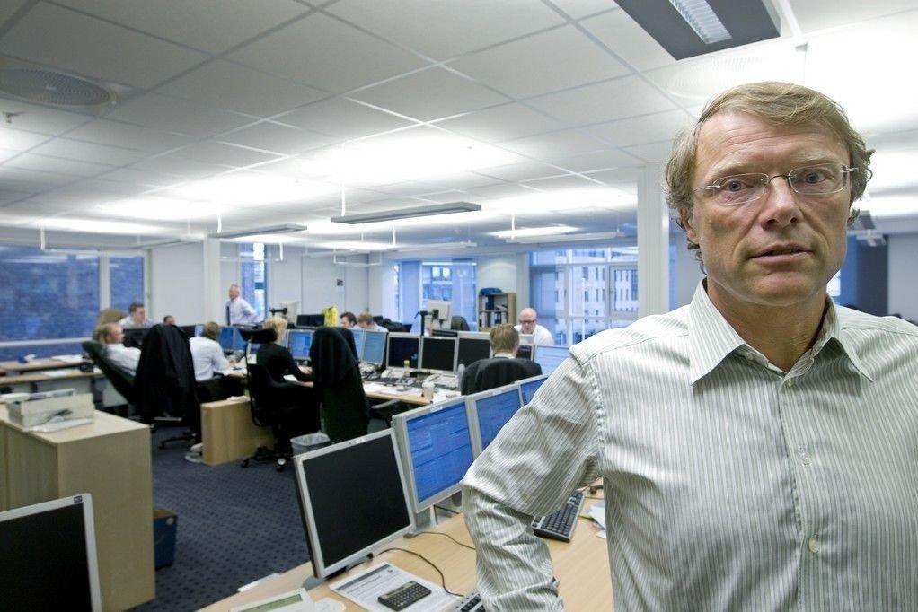 Aksjestrateg Peter Hermanrud i Swedbank mener eierne i SAS kan bli tvunget til å skyte inn frisk kapital. (Arkivbilde fra 2008)