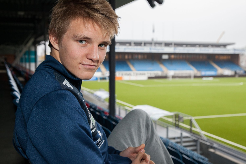 PRESENTERES TORSDAG: Fotballtalent Martin Ødegaard.