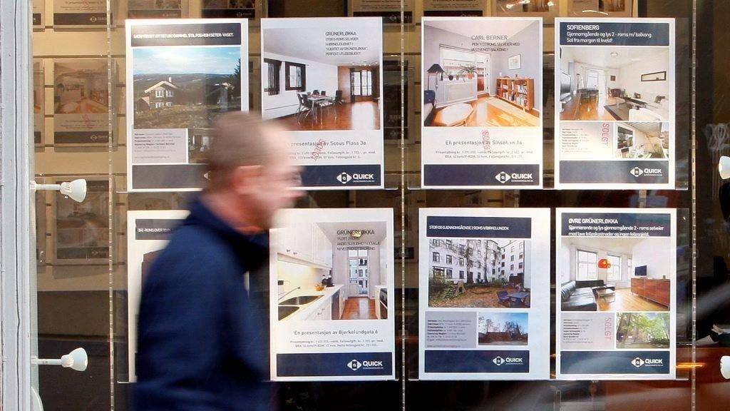 HETT: De fleste boligene til salgs i Oslo går unna etter første visningsrunde, og de selges over takst.