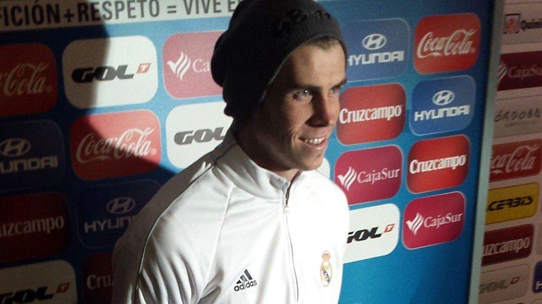 MATCHVINNER: Gareth Bale ble matchvinner mot Córdoba lørdag ettermiddag.