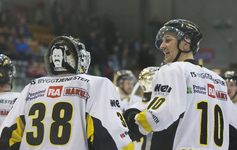 SEIRER: Stavanger Oilers slo Lørenskog lørdag.