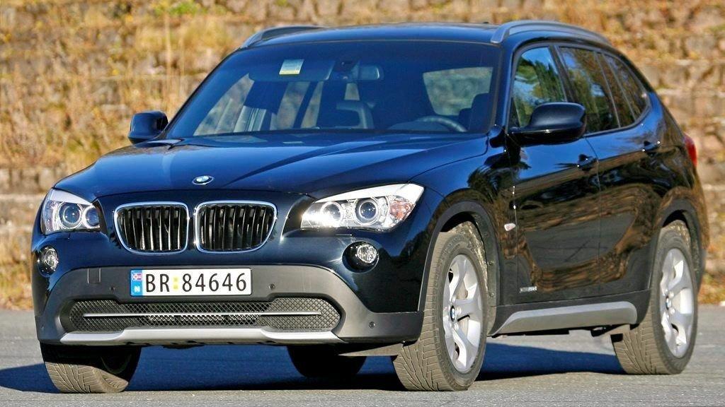 BMWX1: Noen vil si dette er en typisk konebil.