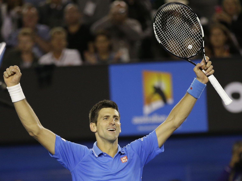 BEST IGJEN: Novak Djokovic ble nok en gang for sterk for Andy Murray.