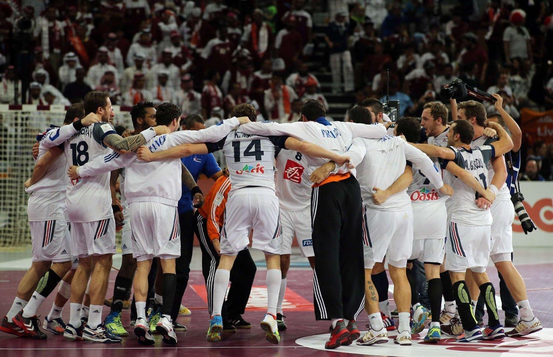 VM-JUBEL: Frankrike vant en spennende VM-finale mot Qatar.