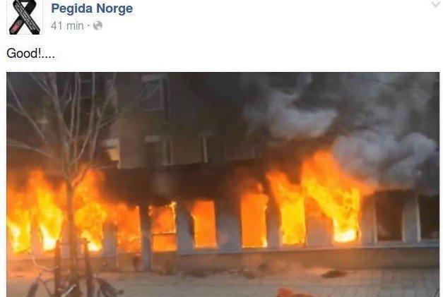 DRØYT: Dette falt ikke i god jord hos Pegida-sjefen, som har fjernet vedkommende som administrator.