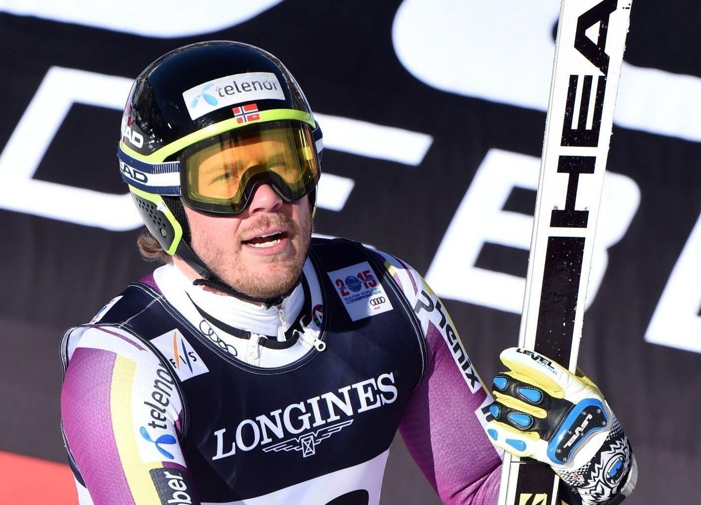 SØLVMEDALJE: Kjetil Jansrud var akkurat for sent ute til å snyte Marcel Hirscher for VM-gullet på superkombinasjonen.