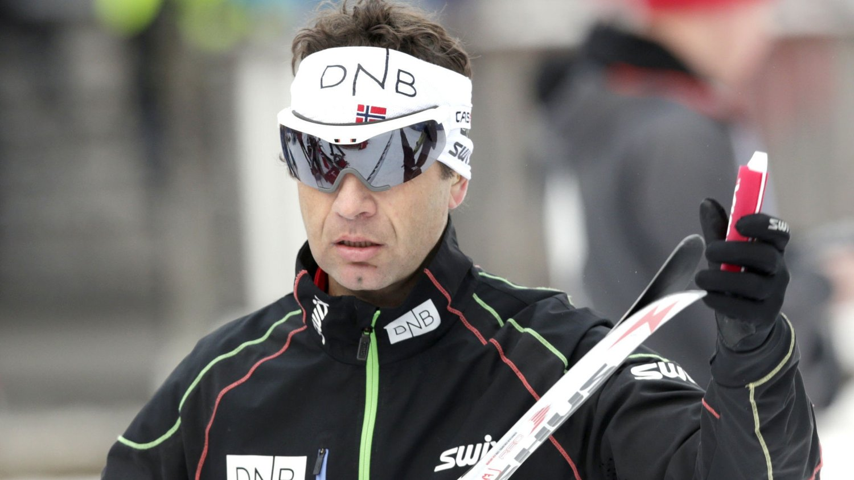 Ole Einar Bjørndalen dropper verdenscuprennene i Holmenkollen.