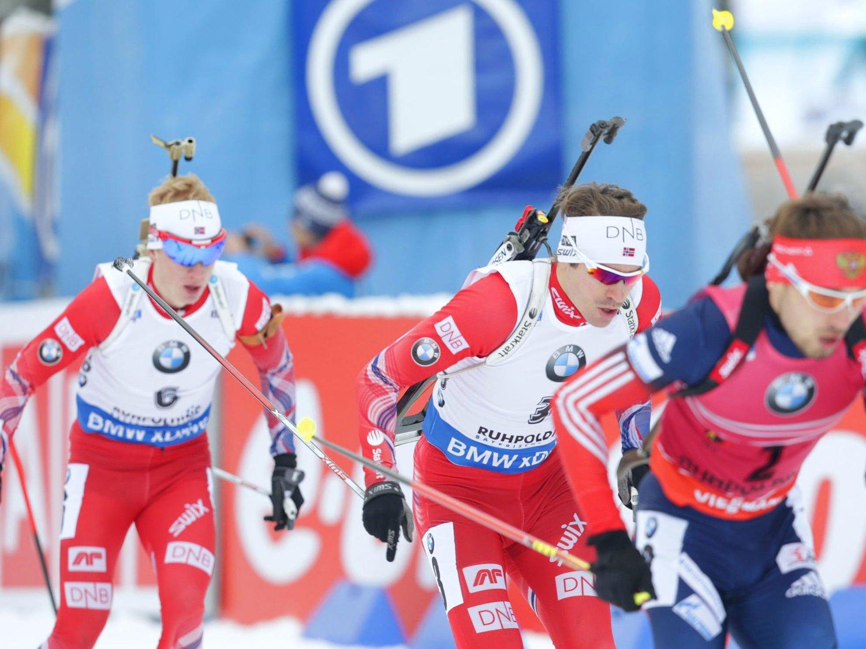 KLARE: Emil Helge Svendsen og Johannes Thingnes Bø skal selvsagt til VM.