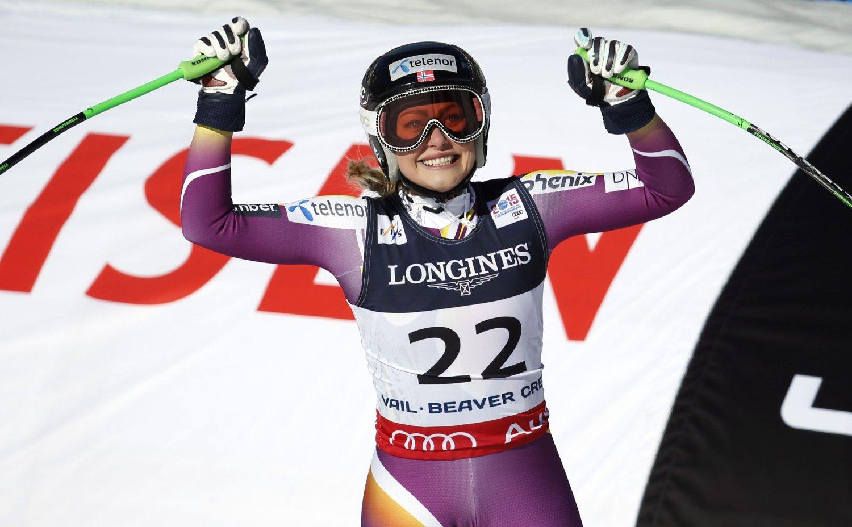 IMPONERTE: Alpinist Ragnhild Mowinckel.