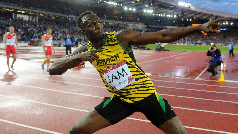 SJEF: Usain Bolt er klar for mer show. FOTO: NTB scanpix