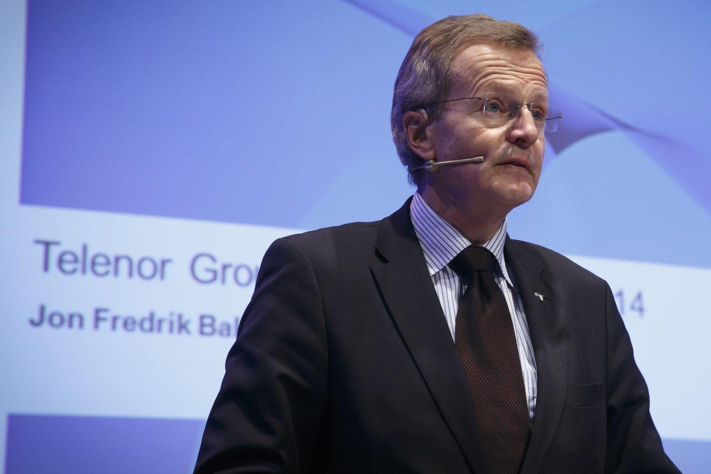 Konsernsjef i Telenor Jon Fredrik Baksaas leder et av Europas raskest voksende telekomselskaper.