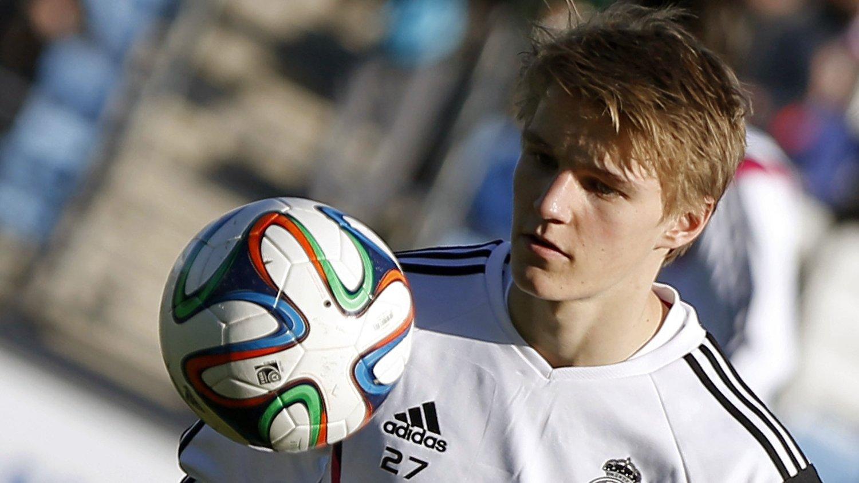 FÅR HAN DEBUTEN? Martin Ødegaard kan nærme seg det store målet om å debutere for Real Madrids førstelag. FOTO: NTB scanpix