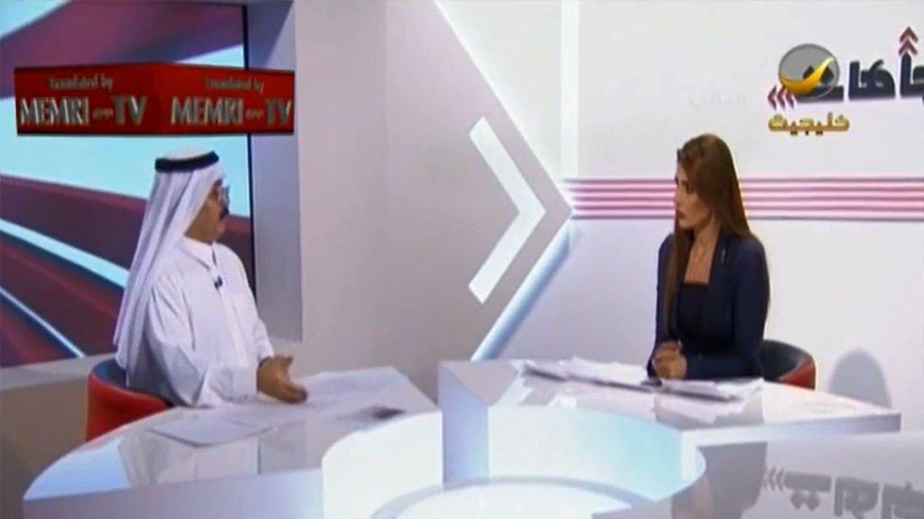 Saudiarabisk historiker, Saleh al-Saadoon (til venstre), sier i et TV-intervju at vestlige kvinner ikke tar seg nær av å bli voldtatt.