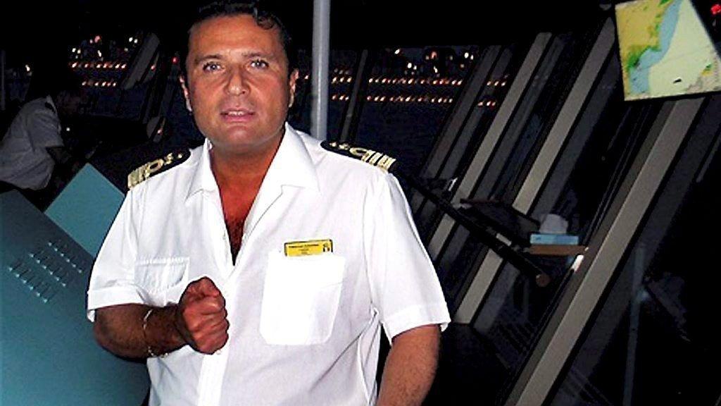 Kaptein Francesco Schettino.