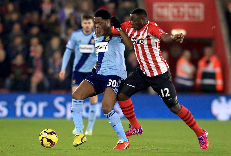 POENDELING: Southampton tok imot West Ham.