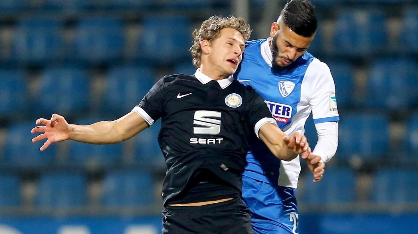 TAP: Vegar Eggen Hedenstad og Eintracht Braunschweig tapte 3-2 mot Bochum og Selim Guenduez fredag.