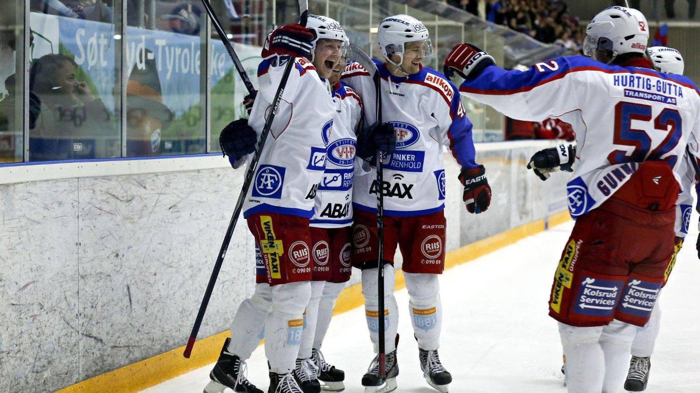 VANT: Vålerenga snudde kampen mot Sparta Sarpsborg og vant til slutt 4-2.