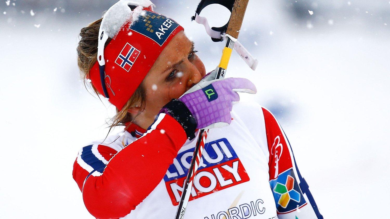 SKUFFET: Therese Johaug vil bare glemme tirsdagens 10-kilometer så fort som mulig.