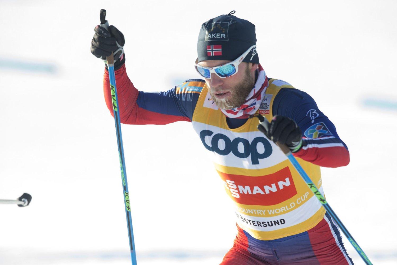REISER ONSDAG: Martin Johnsrud Sundby.