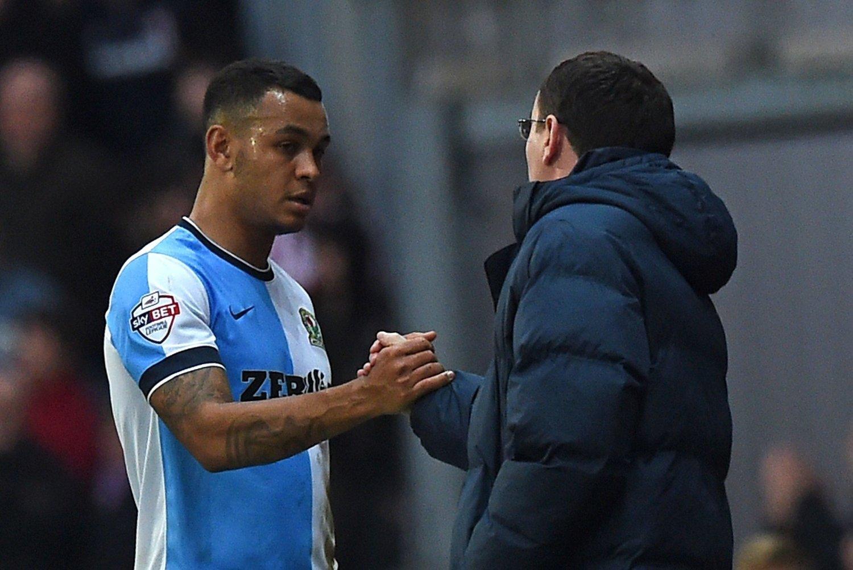 SKADET: Joshua King måtte ut med sakde mot Norwich.