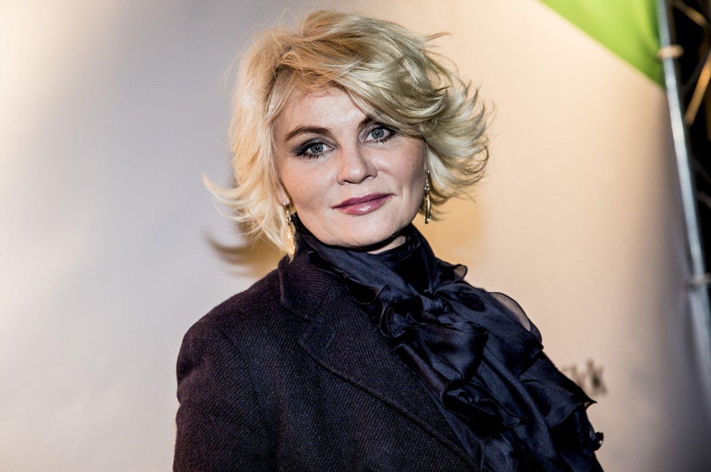 - FREKT: Mia Gundersen (53) er sjokkert over at en annonsør bruker henne som modell for salg av en rynkekrem uten hennes godkjennelse. Foto: Scanpix