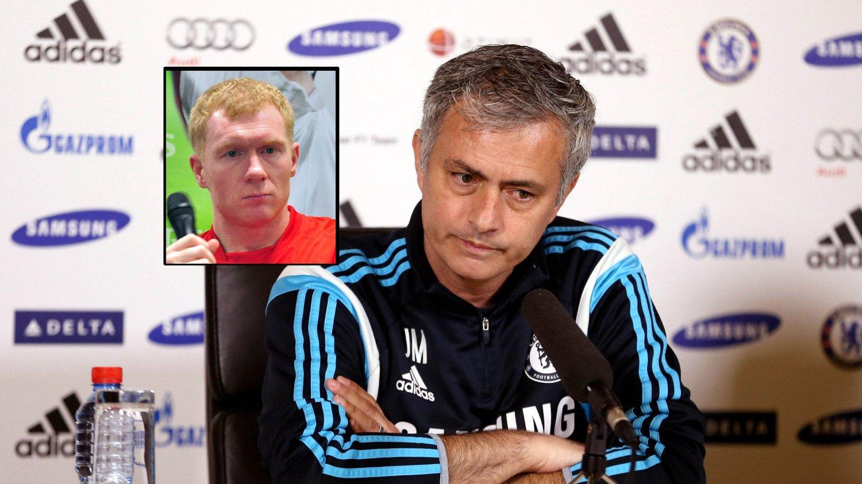 FORSTÅR MOURINHO: Paul Scholes skriver i en spalte hos Independent at han forstår Jose Mourinhos frustrasjon.