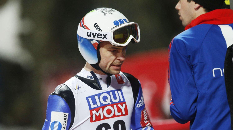 TILBAKE: Anders Jacobsen har fått plass på det norske laget som skal sikre VM-gull under lørdagens lagkonkurranse i Falun-VM.