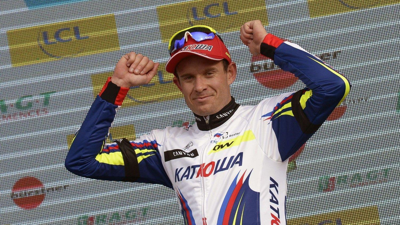 FAVORITT: Alexander Kristoff er en av de største favorittene til å vinne årets utgave av Milano-Sanremo, rittet han vant i fjor.