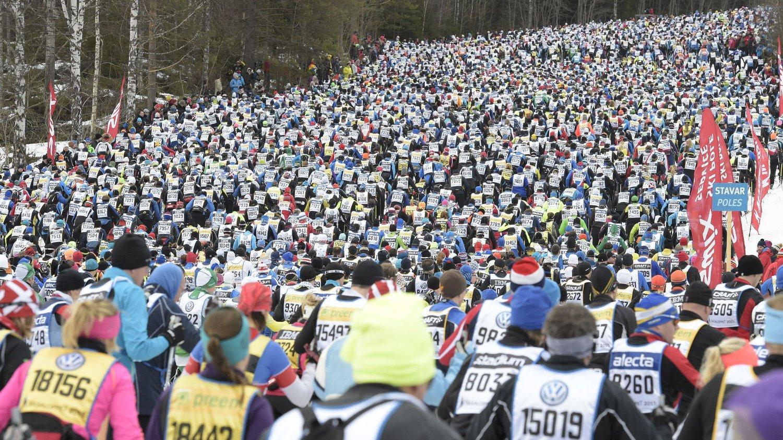 POPULÆRT: Vasaloppet 2016 ble fulltegnet på 83 sekunder.