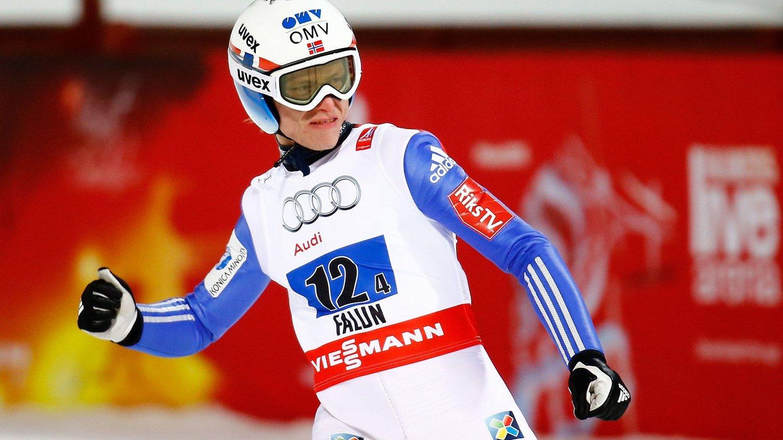PÅ PALLEN: Rune Velta endte på tredjeplass i verdenscupfinalen i Planica.