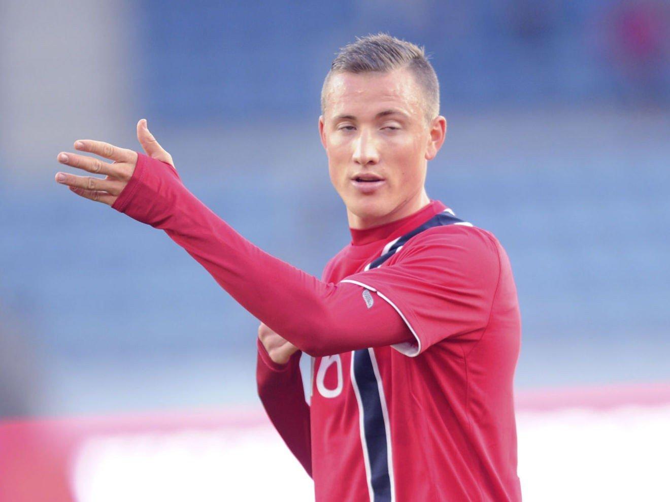 PREMIER LEAGUE-DEBUT? Fredrik Ulvestad er med i troppen når Burnley møter Tottenham søndag.