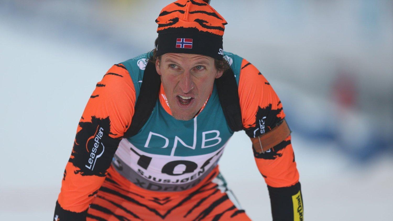 FERDIG: Lars Berger takker for seg.