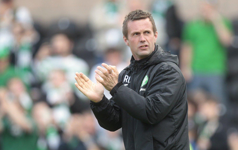 Celtic-manager Ronny Deila har grunn til å være fornøyd med laget sitt om dagen.