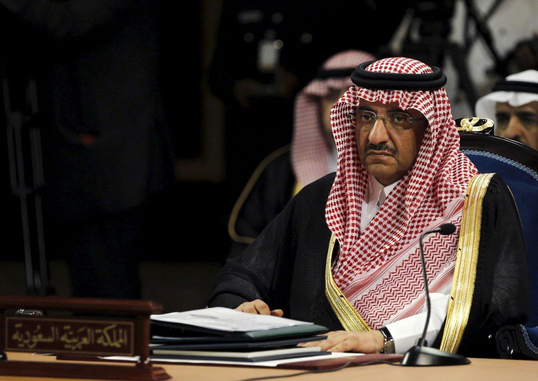 Mohammed bin Nayef har rykket opp til førsteplass i arverekken til den saudiarabiske tronen.