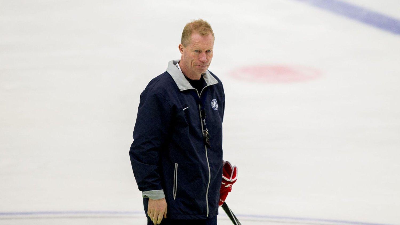 IRRITERT: Roy Johansen er skuffet over at de norske gutta ikke skyter flere skudd.