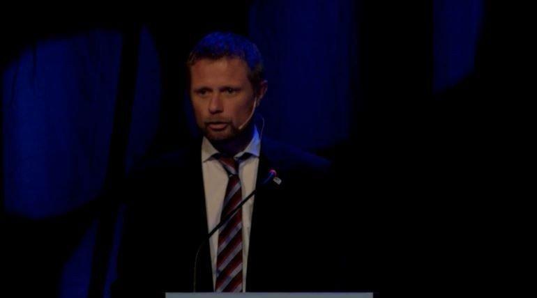 Helseminister Bent Høie legger frem stortingsmeldingen «Framtidens primærhelsetjeneste – nærhet og helhet».