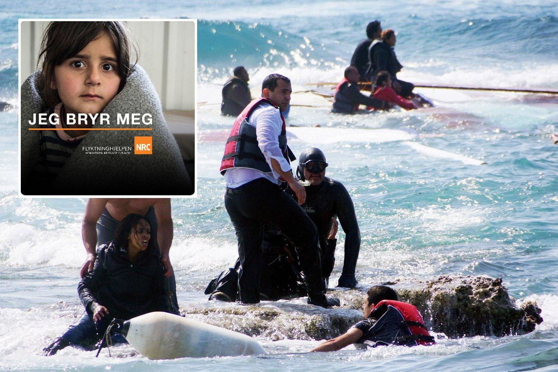 Gjennom Flyktninghjelpens nye Facebook-app, kan du lett sende penger via Flyktninghjelpen, som igjen vil bruke pengene til å hjelpe båtflykningen i Middelhavet.