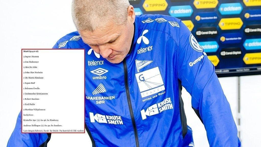 BRUTALT: Start-spillerne bør kanskje la være å lese lokalavisen etter cupflausen mot Vindbjart.